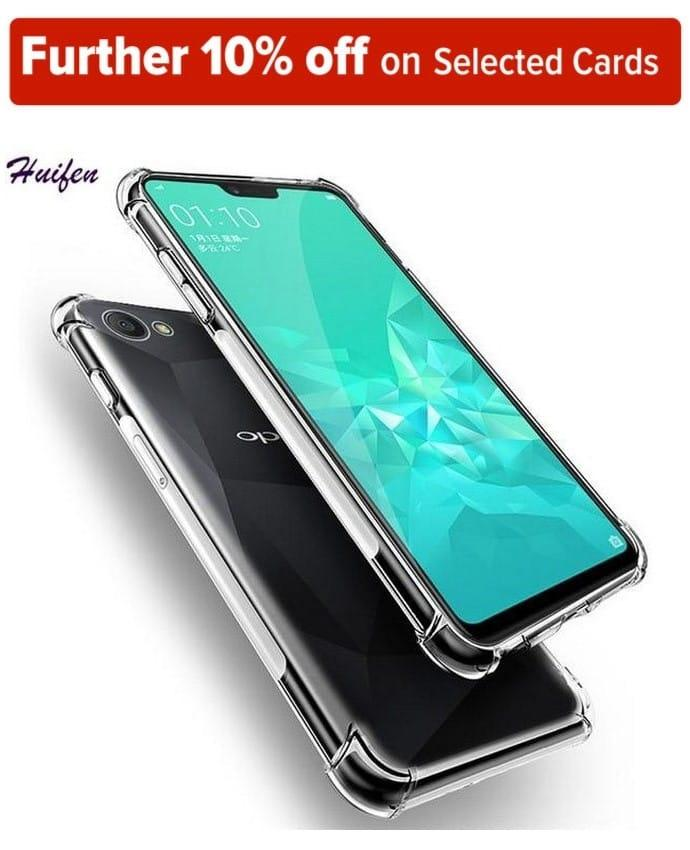 Oppo F7 Transparent cover