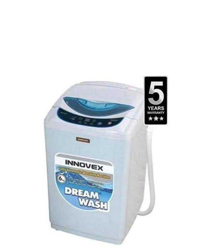 Innovex DFAN 60 Fully Automatic 6kg Top Loading Washing Machine