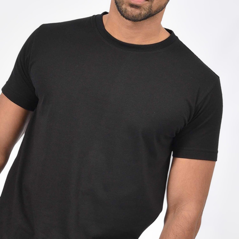 Daraz Select Men's Crew Neck T-Shirt - Black