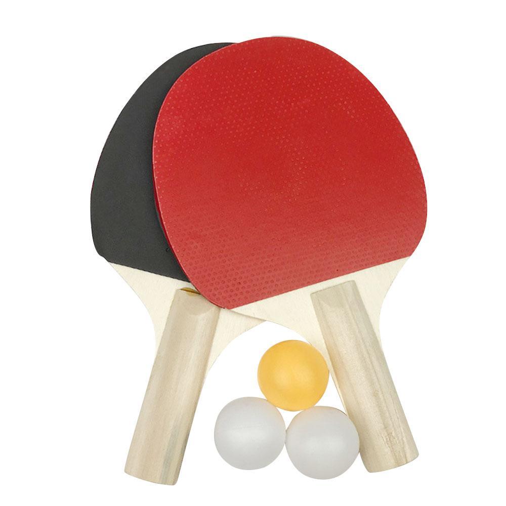 Ping Pong Bat Durable Portable Table Tennis Bat Game Playground Colour