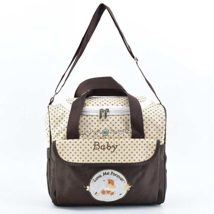 UR New Mini Mom Bag 2018 Portable Hand Bill Of Lading Shoulder Bag Coffee