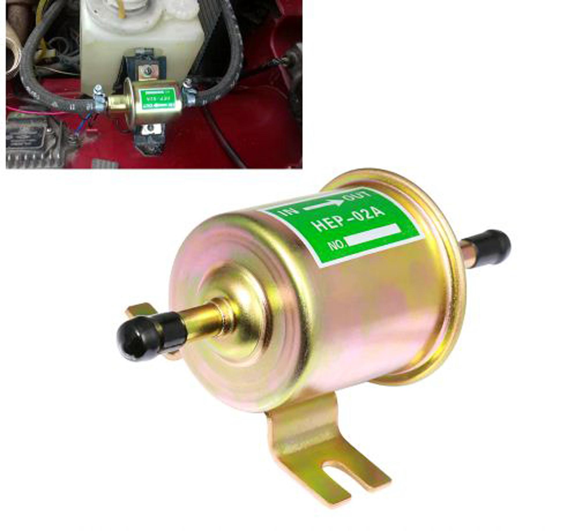 12V Diesel Petrol Electric Fuel Pump For Car Carburetor