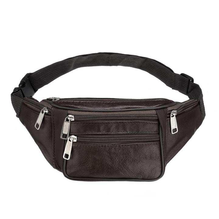 Waterproof Waist Fanny Pack Belt Bag Pouch Travel Sport Hip Purse Men Women Black/Yellow,/Khaki/Coffee/Brown
