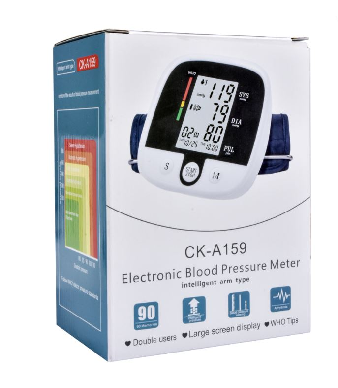 Blood pressure monitor with digital LCD and rechargeable CK-A159: Buy Sell  Online @ Best Prices in SriLanka | Daraz.lk