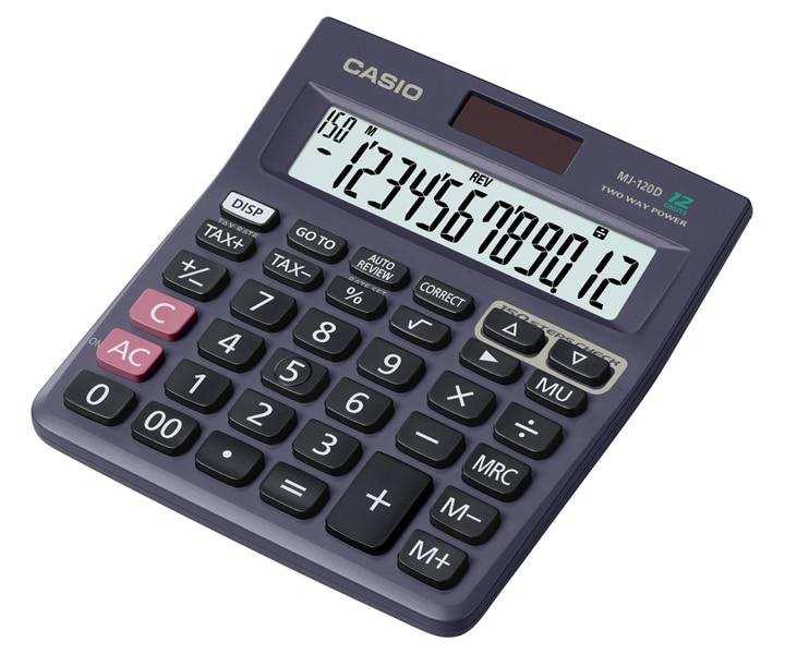 Casio Desktop - C & C Calculator MJ-120D
