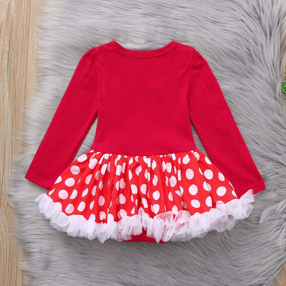 Christmas Tutu Outfits.Newborn Infant Baby Girls Christmas Xmas Tutu Tulle Dresses Romper Outfits