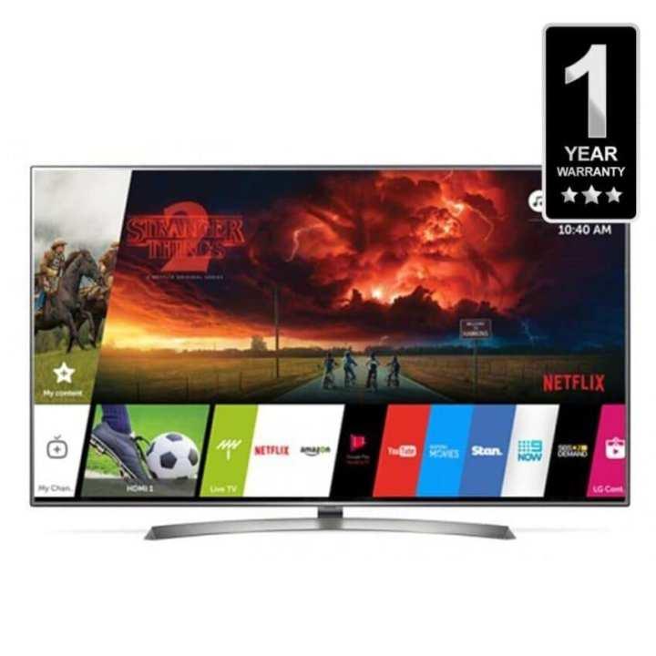 "LG 43"" 4K UHD Smart TV - Black"