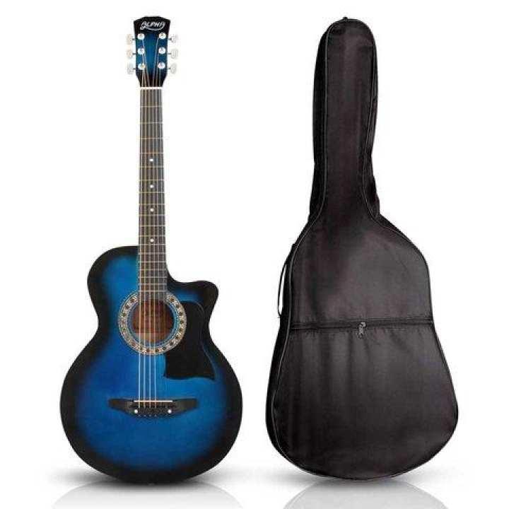 """38"""" Acoustic Guitar - Blue"""