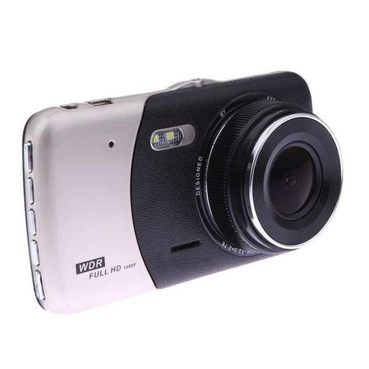 "4"" Dual Lens Camera HD 1080P Car DVR Vehicle Video Dash Cam Recorder G-Sensor"