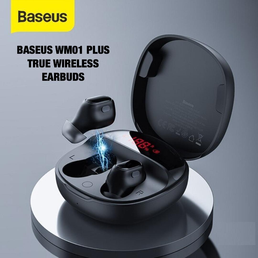 Baseus true wireless earbuds WM01 plus: Buy Sell Online @ Best Prices in  SriLanka | Daraz.lk