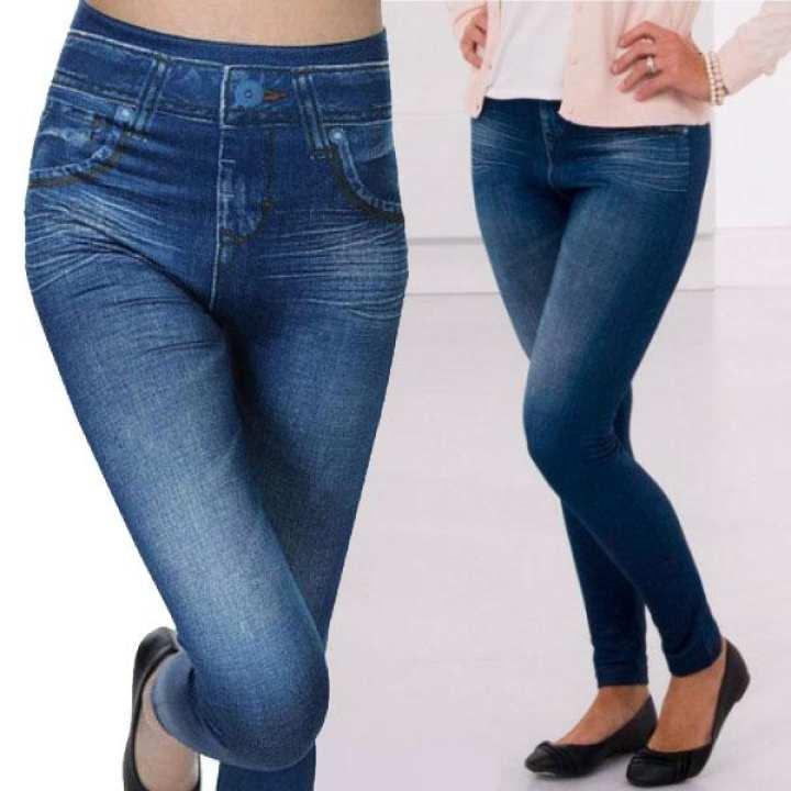 Ladies Jeans Blue