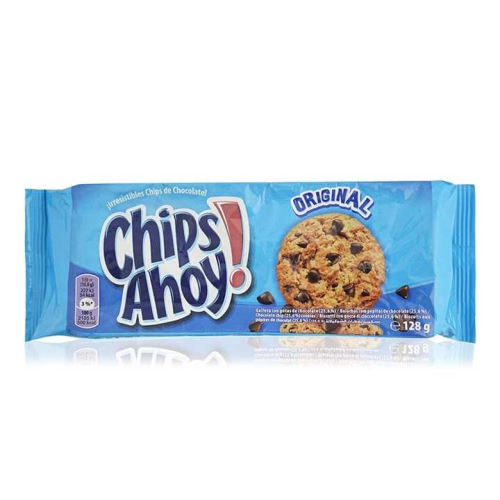 Chips Ahoy Choco Chip Biscuits - 128 g