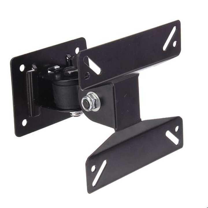14-24 inch Adjustable Swivel Tilt LED LCD TV Monitor Wall Mount Bracket Stand